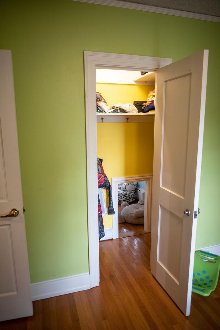 The Yellow Dress-up Closet