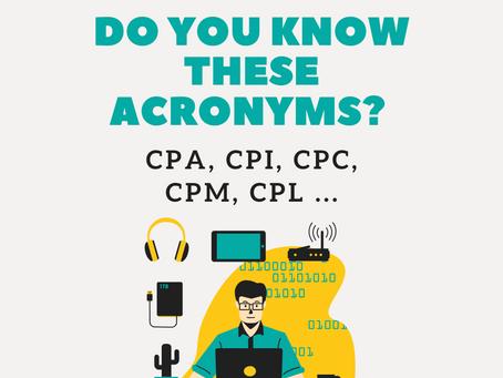 Digital Marketing Concepts: CPA, CPI, CPC, CPM, CPL ...
