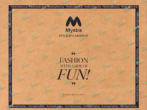 Myntra Branded Paper Mailer Bag (21X17)