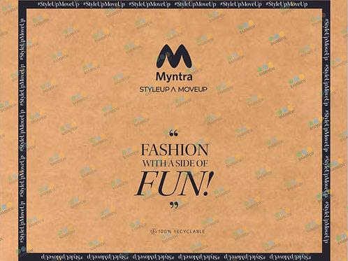Myntra Branded Paper Mailer Bag (23X19)