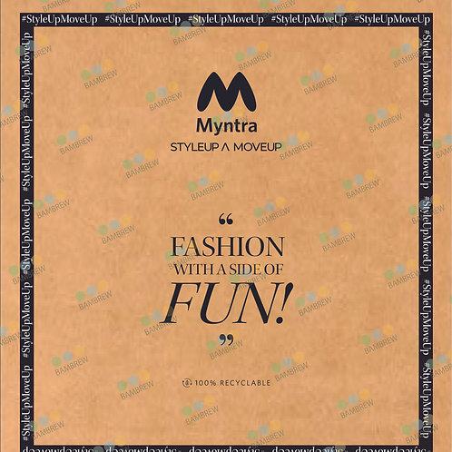 Myntra Branded Paper Mailer Bag (14X16)