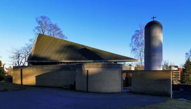 Kirken fra oversiden