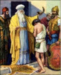 1 SM 16.1B.6-7.10-13A Samuel salver Davi
