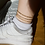 """Thumbnail: """"Monarch"""" Gold Plated Anklet"""