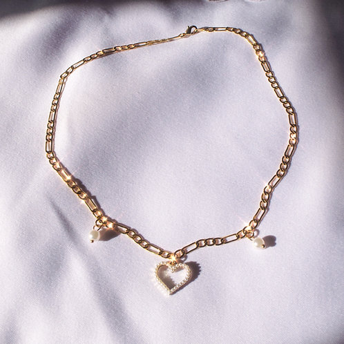 """Heather"" Gold Plated Necklace"