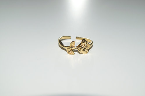 """""""Rosie"""" Gold Plated Ring"""