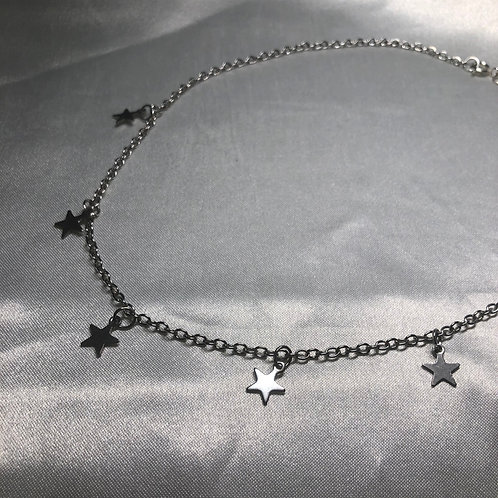 """Collision"" Star Necklace"