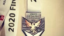 2020 Mesa-PHX Marathon recap