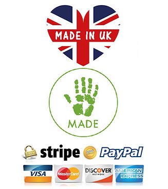 hand made in UK