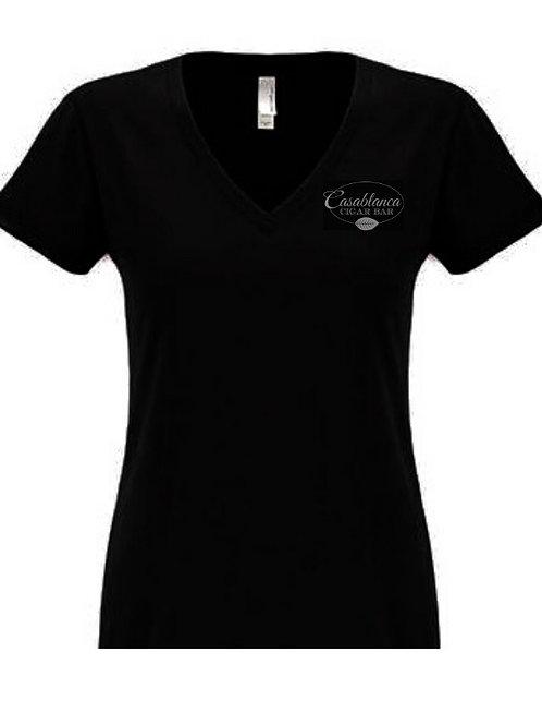 Casablanca Women's V Neck T-Shirt