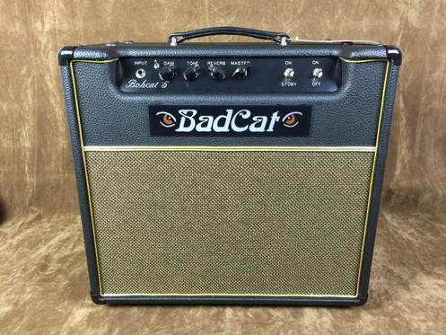 Bad Cat Bobcat 5R 1x12 Combo 5 Watts with Reverb