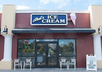 Abel's Ice Cream Exterior