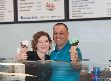 Owners of Abel's Ice Cream, Jerry & Jill Williams
