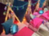 Girl mermaid teepee sleepover party belfast northern ireland