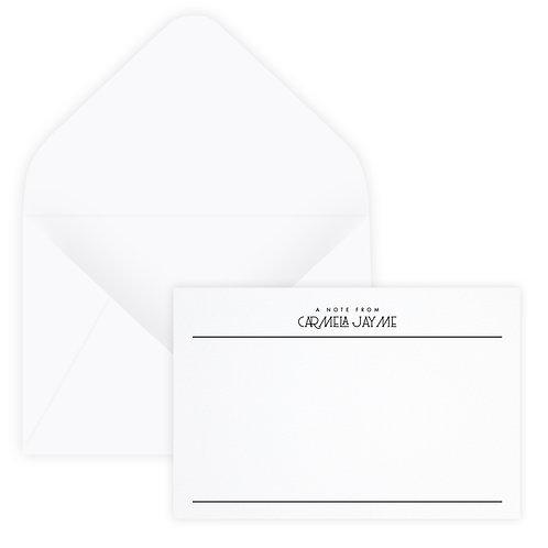 Notes Notecard