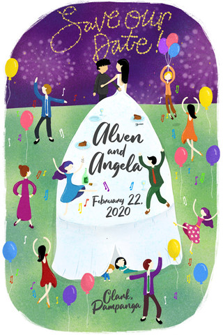 Alven and Angela's Save The Date