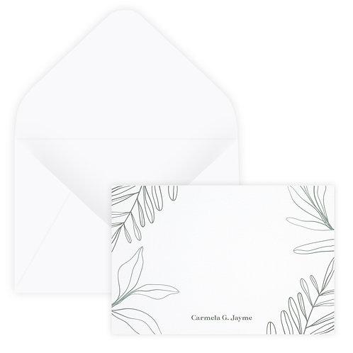 Sage Notecard