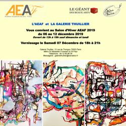 Salon Académie Européenne des arts -  Paris