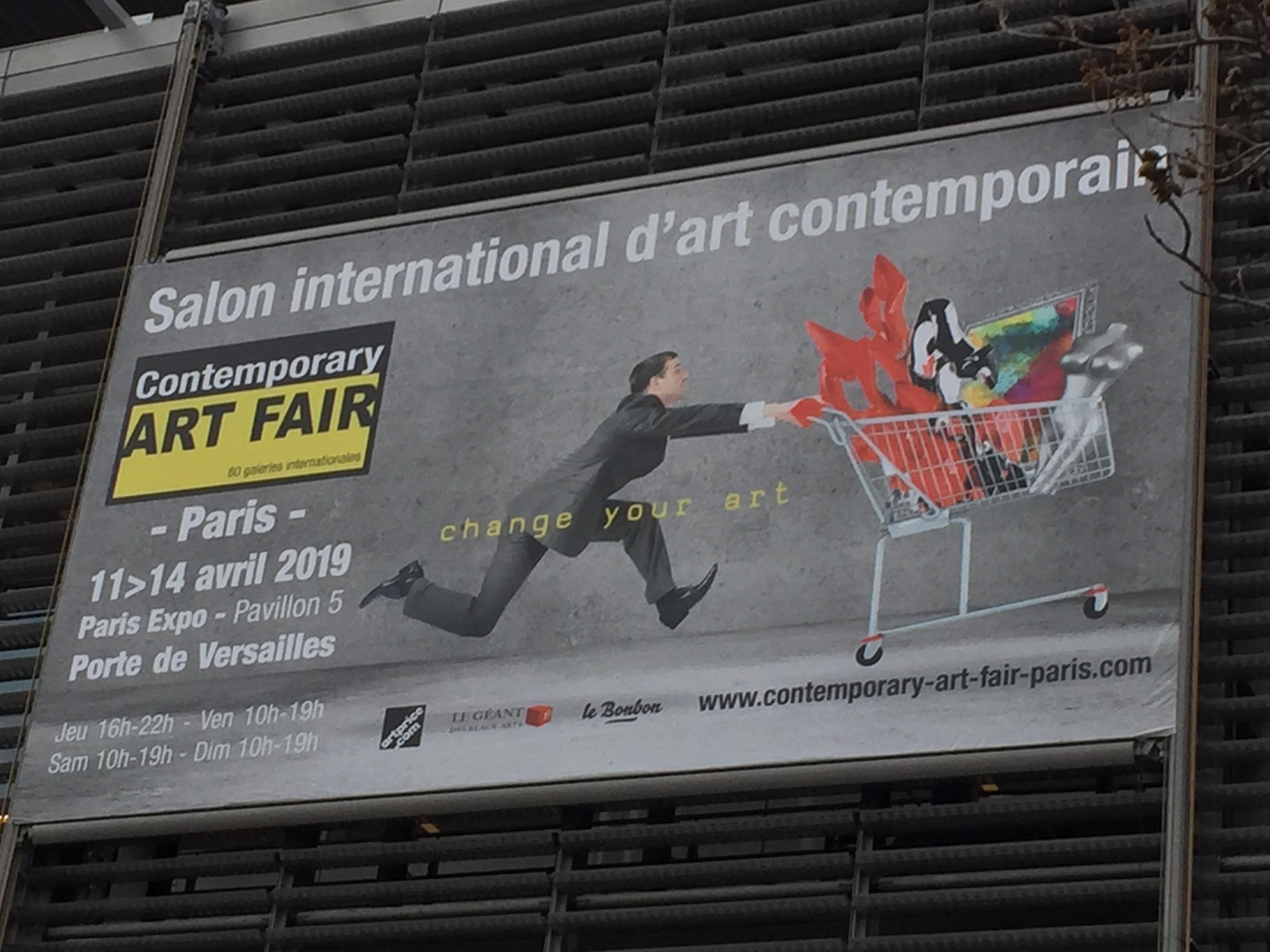 Exposition ARTFAIR PARIS