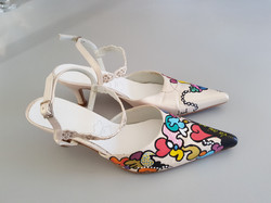 Relooking chaussure mariage