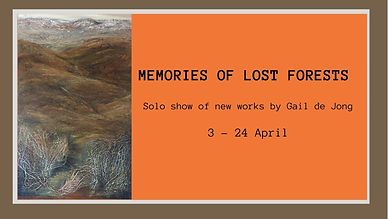 Memories of Lost Forests' Solo show of n