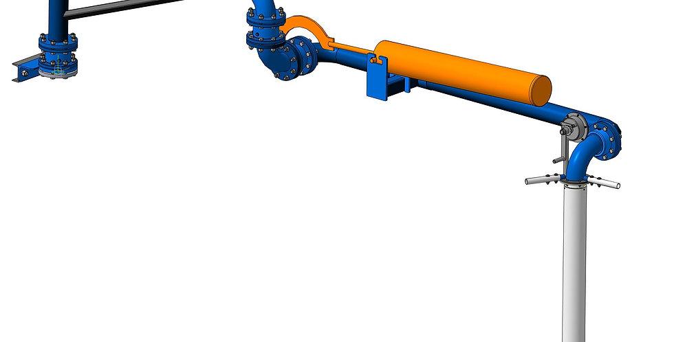 Открытый налив в автоцистерны АСН-100-ОН
