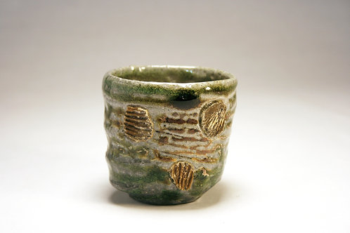 Salt Fired Whiskey Cup