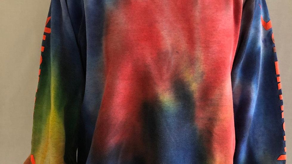 Vintage sweater Tie dye