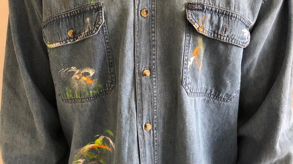 Shirt patchwork