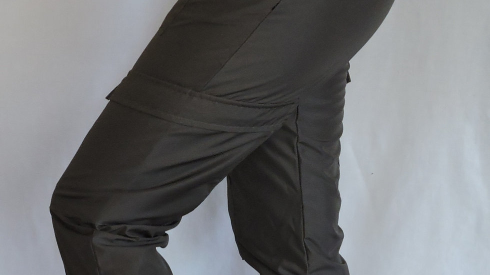 Cargo broek Nylon zwart