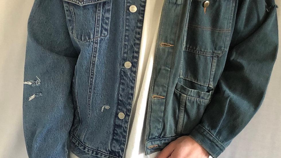 Vintage Jeans jacket multicolour