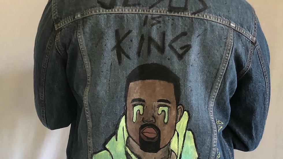 "Vintage Jeans jacket ""Kayne West"""