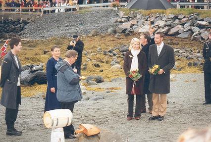 Kronprinsparet Valsøyfjord