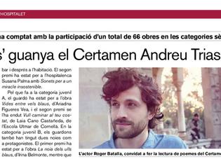 Lectura Certamen Andreu Trias, XXI ed.