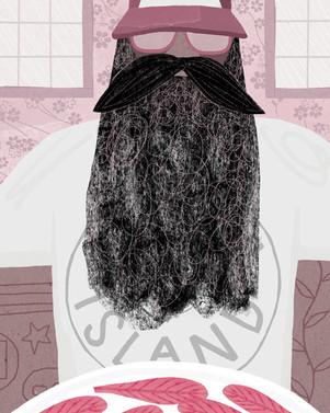 #beardedandreppingyourtowndish