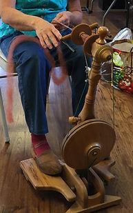 fiber spinning workshop