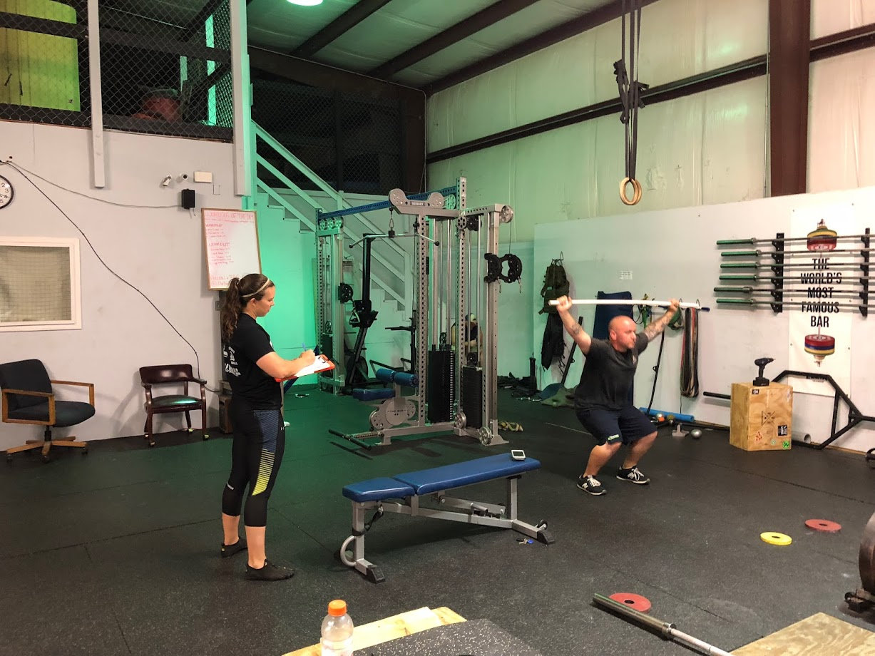 One on One Personal Training Session