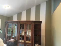 Custom Accent Wall Stripes