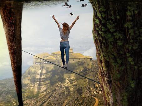Coragem para mudar e sair do modo sobrevivência