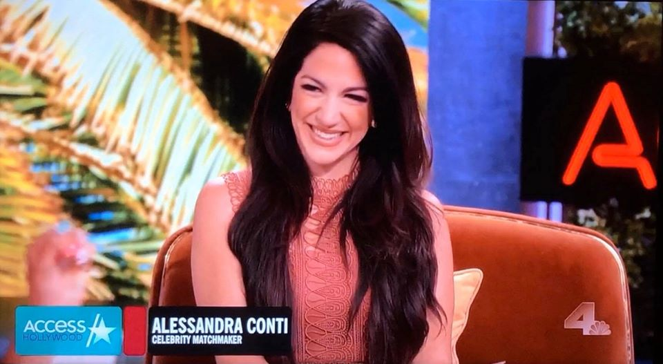 Alessandra Conti on Access Hollywood