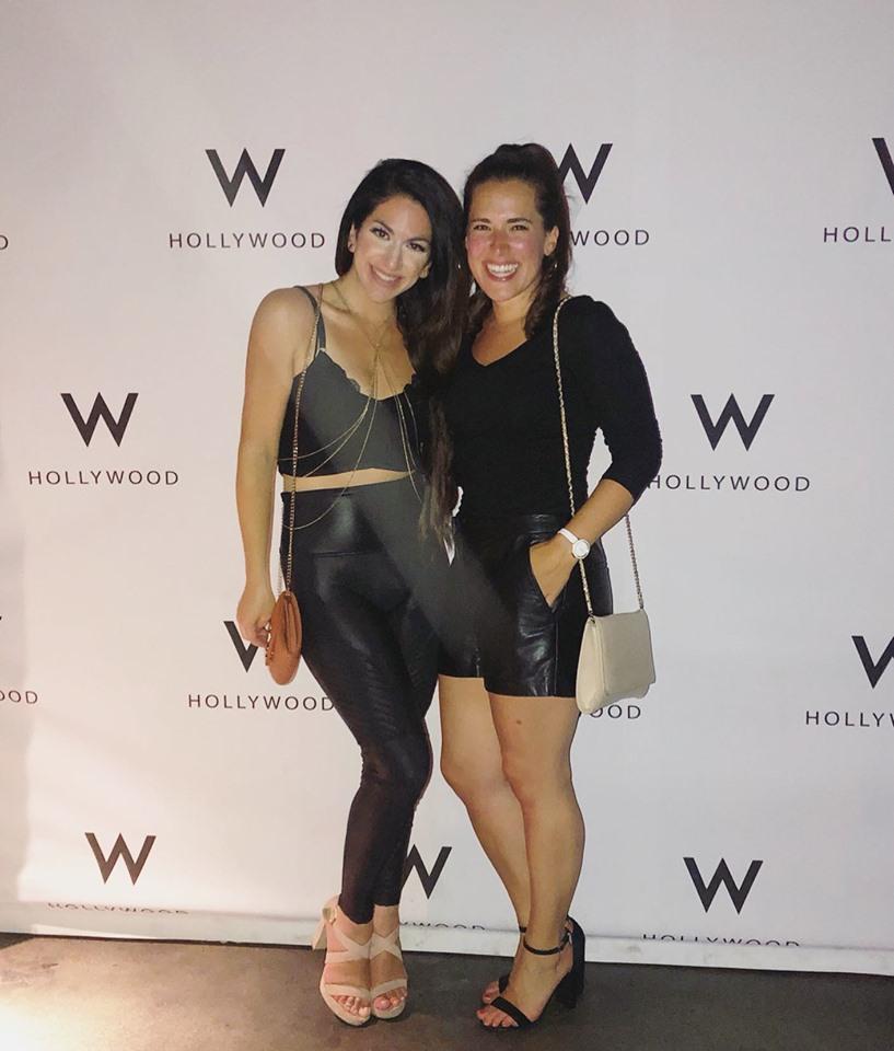 Alessandra Conti and Jenny Hoffman