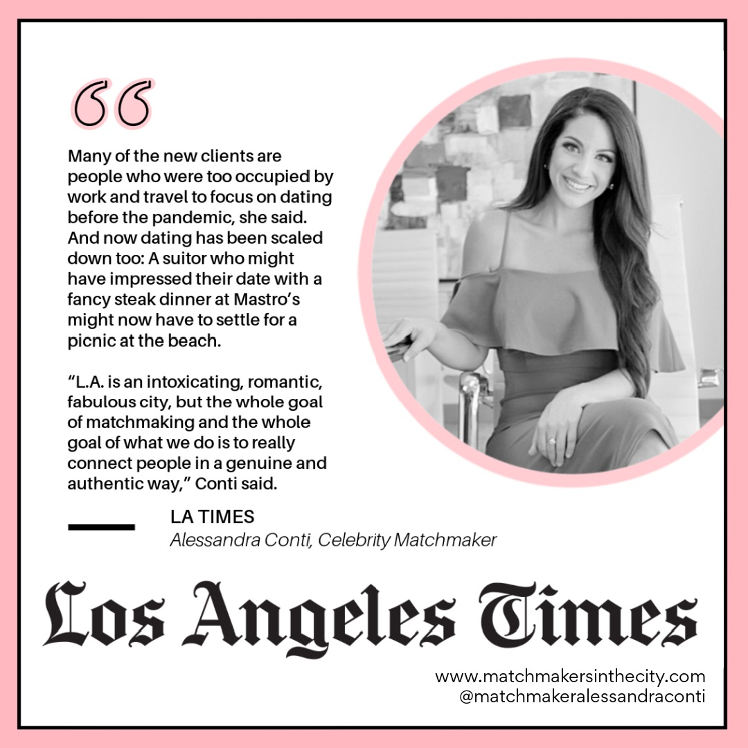 Alessandra Conti in LA Times