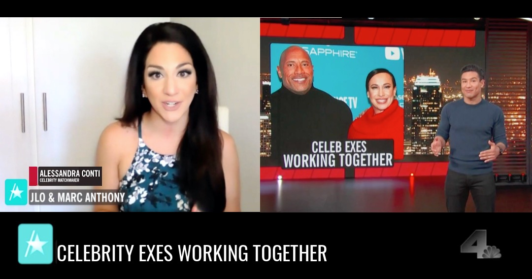 Celebrity Matchmaker & Dating Expert Alessandra Conti on Access Hollywood
