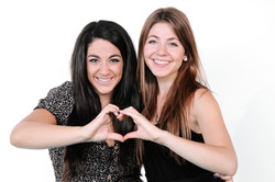 Alessandra Conti and Cristina Conti