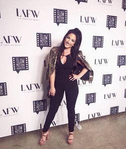 Matchmaker Alessandra Conti at LAFW