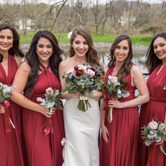 Cristina Conti Pineda's Bridesmaids