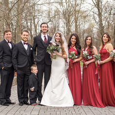 The Pineda Wedding Party