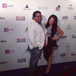 Matchmaker Alessandra Conti and Eddie Leav