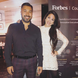 Celebrity Matchmaker Alessandra Conti at Forbes Event