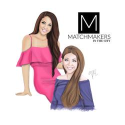 Celebrity Matchmakers & Sisters, Alessandra Conti & Cristina Conti Pineda